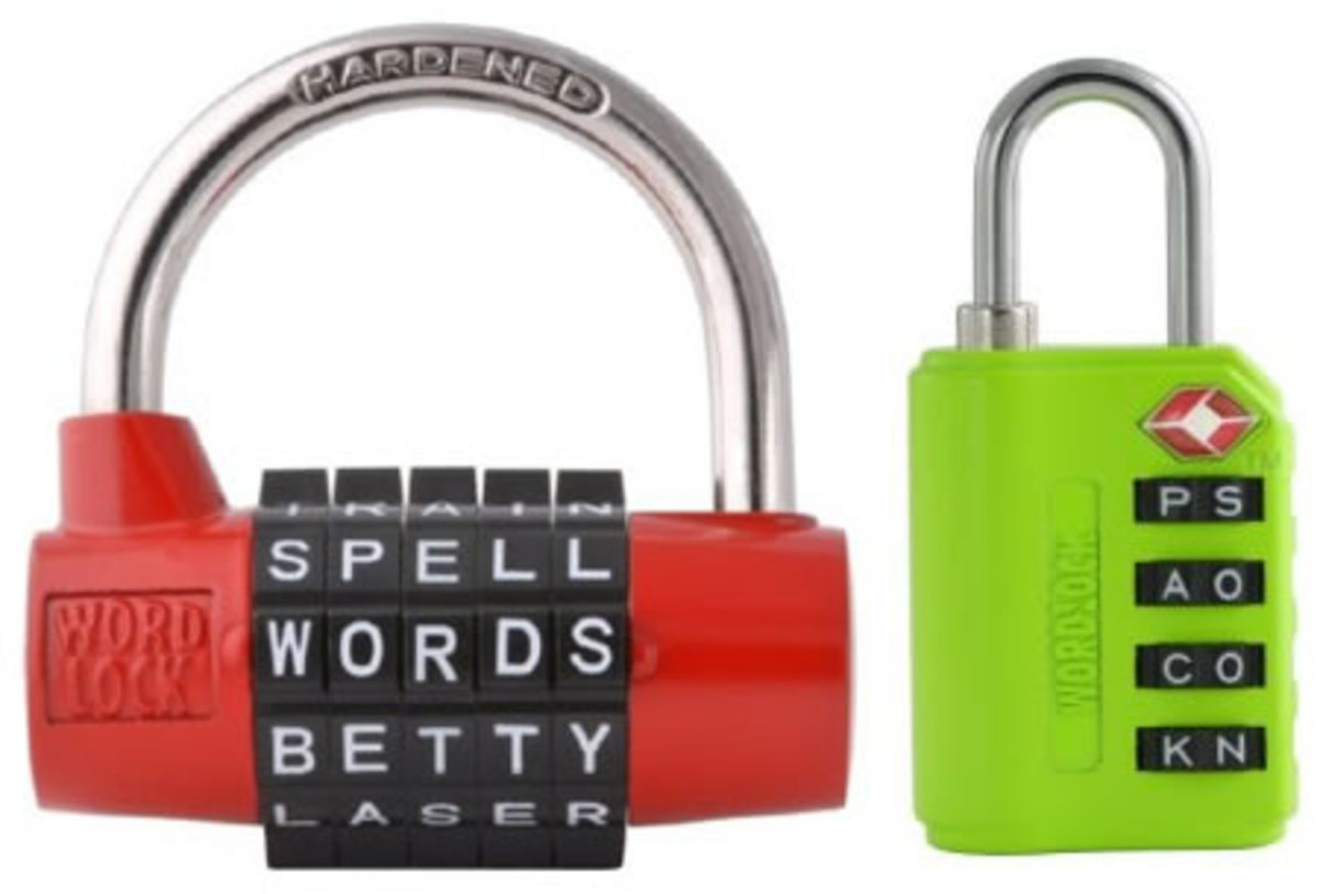 Word Lock: Now you can do away with the conventional number lock and turn to the Word lock, which requires a decent amount of word power in order to cook up your own uncheckable word