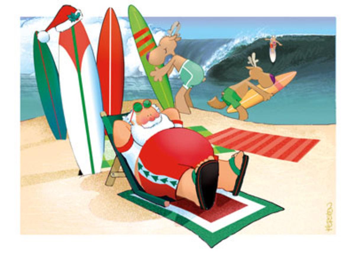 beachchristmascards