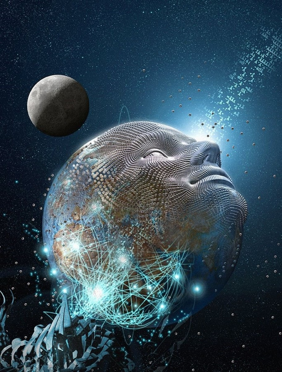 The dimensions, light, planets, everything is here to help us have experience. We don't need to label all the minutia or try and figure everything out- we can't when we are coming from the 3D perspective. What we can do is work on the lessons and com