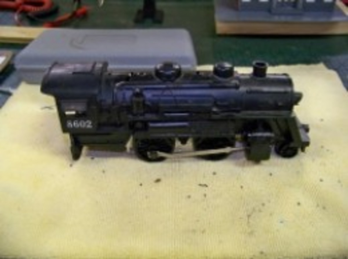 Maintaining Your Vintage Lionel Steam Engine
