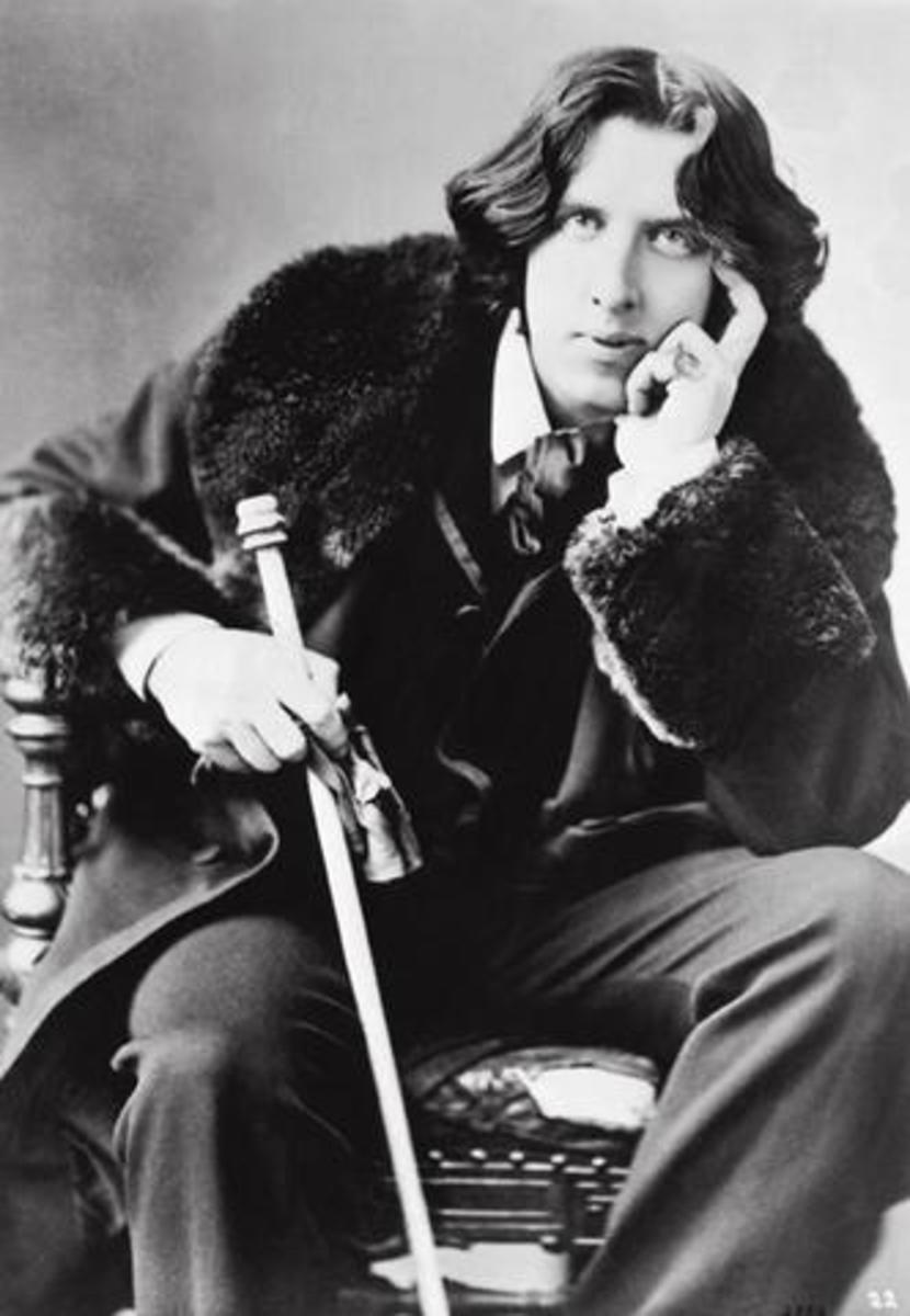 Inspired by Oscar Wilde, in 100 Words