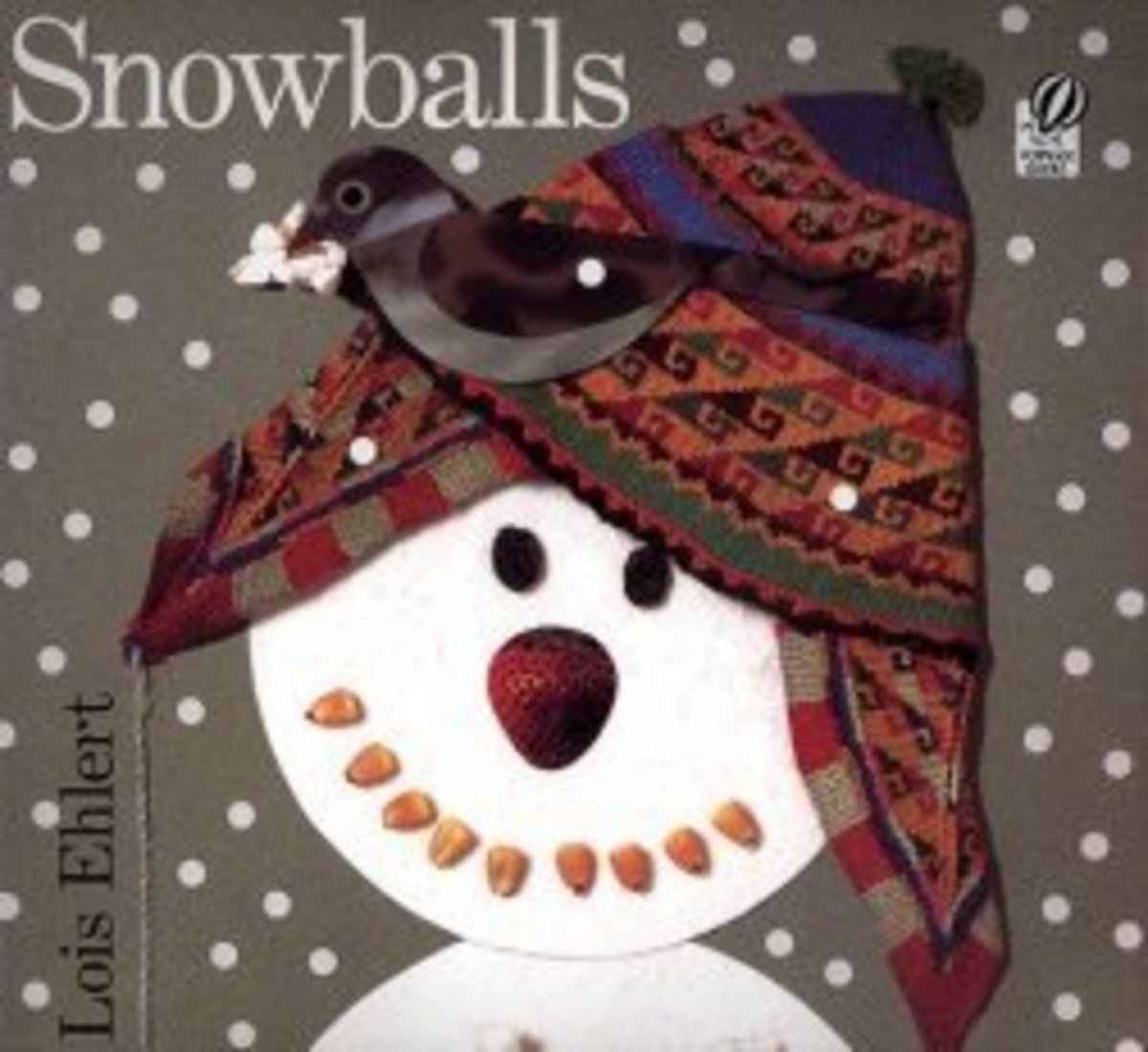 Snowballs by Artist/Writer Lois Ehlert is a classic winter collage storybook with a simple storyline and lots of fun collage pictures made from quirky objects.