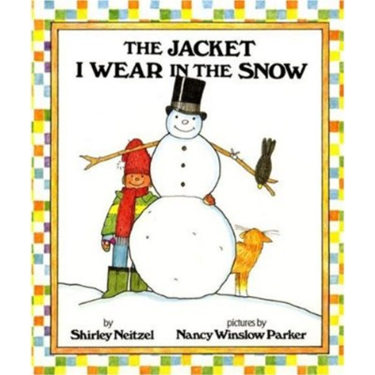 This book tells all the items a child needs to play in the snow. Young children can read along with the pictographs.