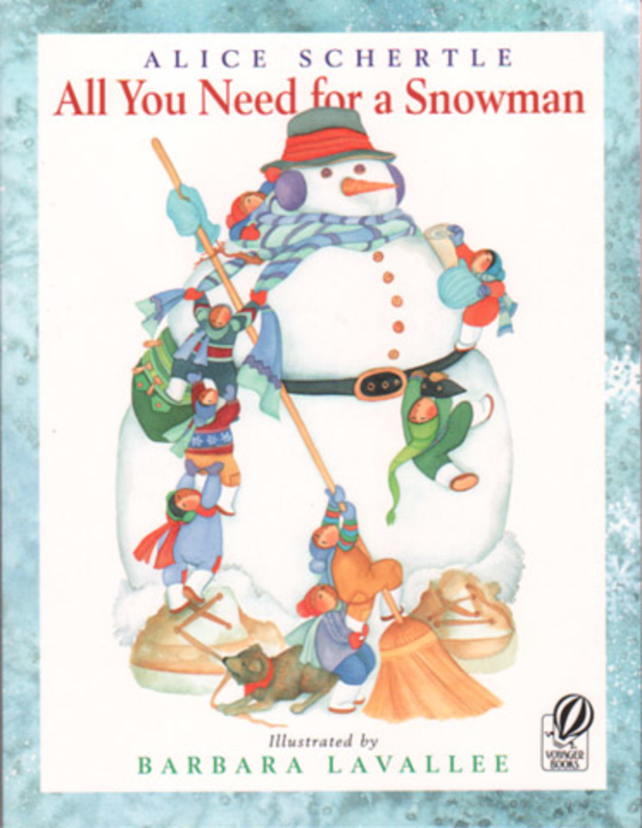 All You Need For A Snowman is a great story time pick.
