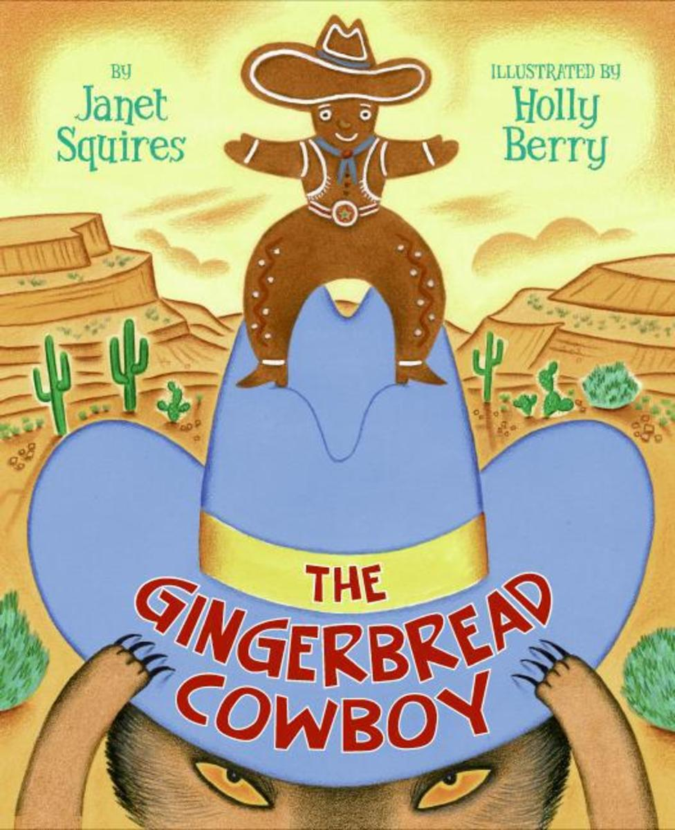 The Gingerbread Cowboy is a wild-west version of the gingerbread man tale.