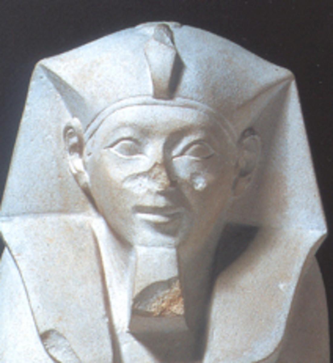 Pharaoh Ahmose the Great 1539-1514 B.C.