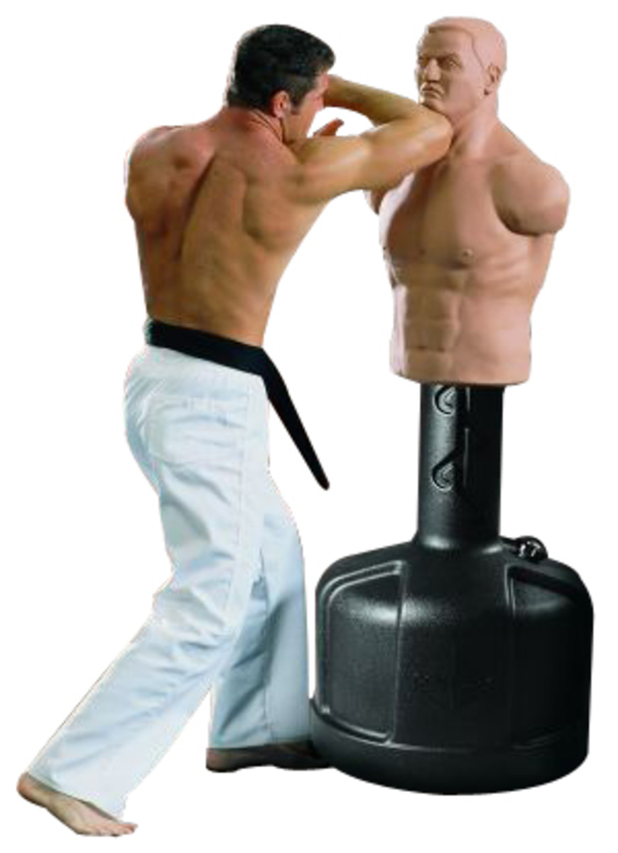 Bob Punching Bag The Closest Thing To A Real Opponent
