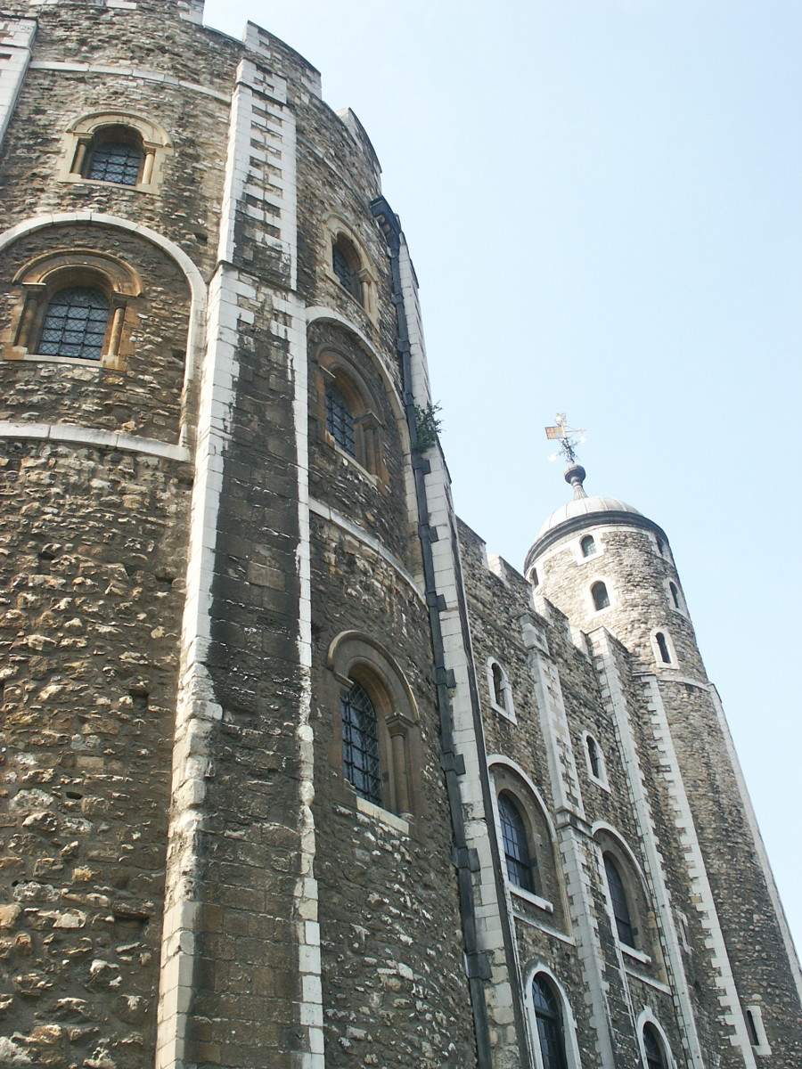 The White Tower (from below)