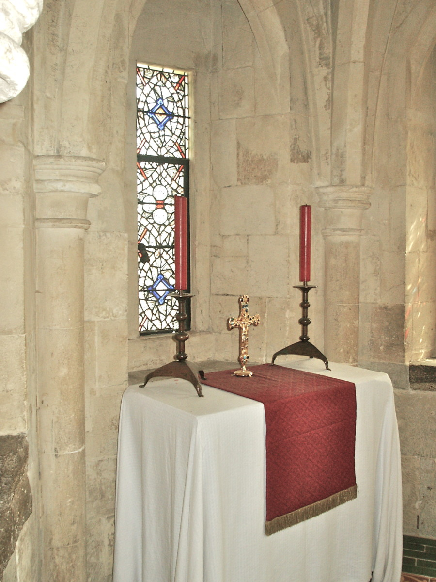 Altar in the Normal Chapel