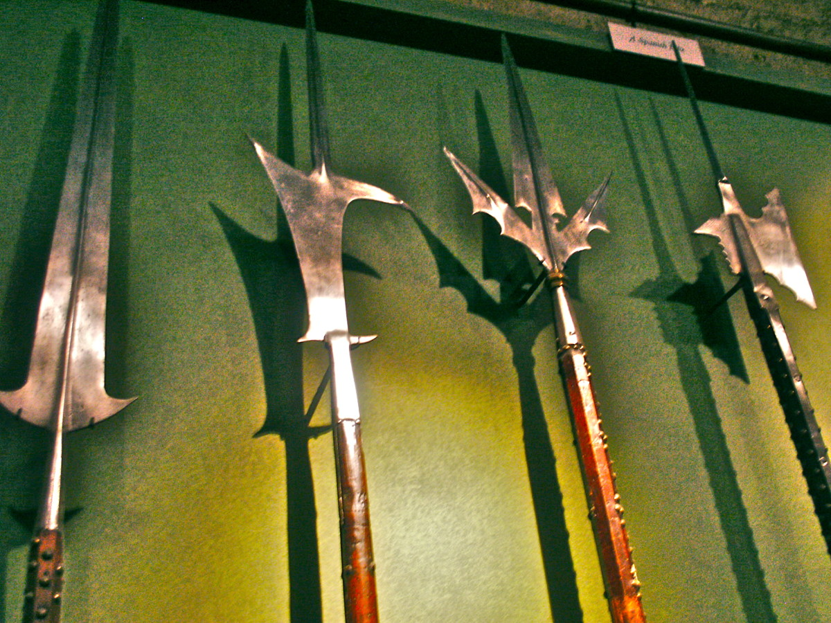 Spears in the Royal Armories