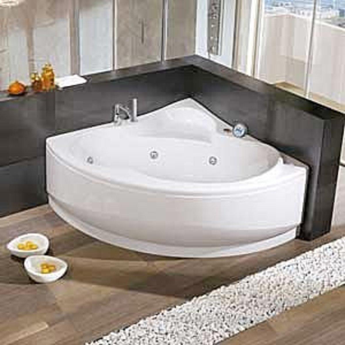 Bathroom Remodeling Corner Bathtubs