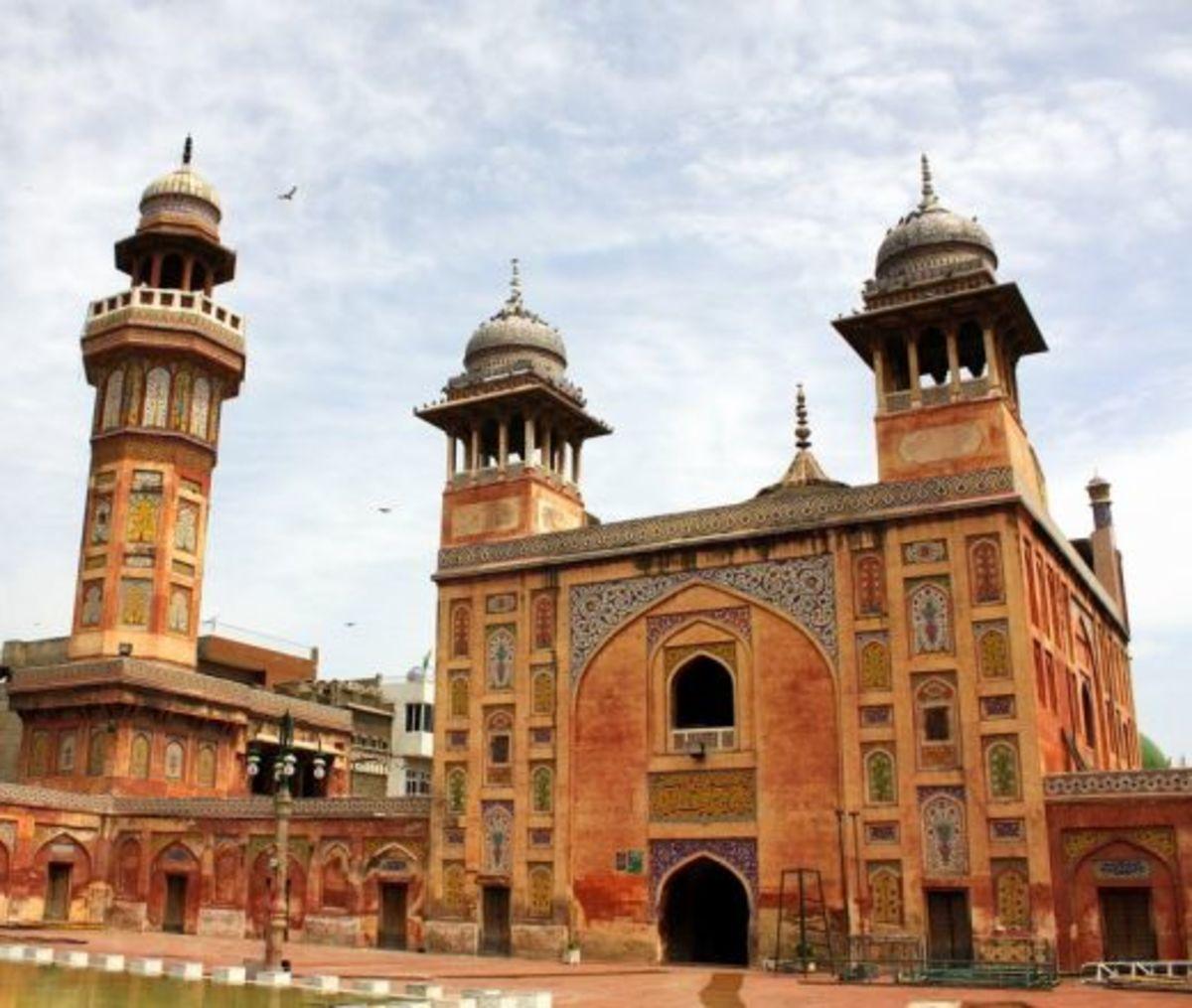 Built under mughal Shah Jahan's rule, 1634, Lahore.