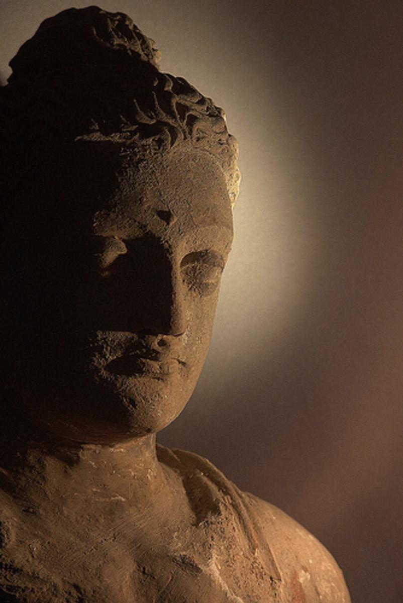 Buddha, Taxila Museum.