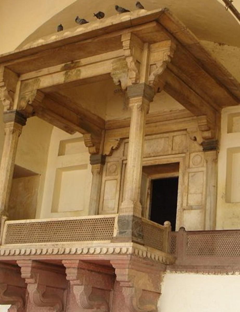 'Jharoka' or Royal Balcony