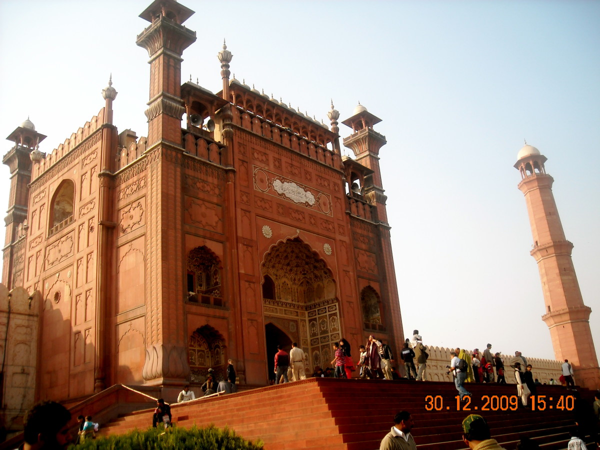 Main Entrance to the Mosque