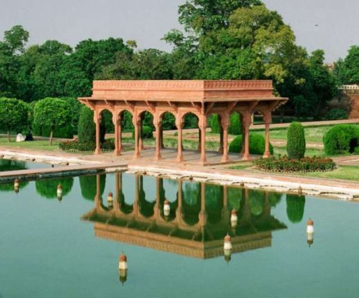 Shalimar Gardens were laid out by mughal Shah Jahan. A beautiful place to go for a walk or simply to relax..