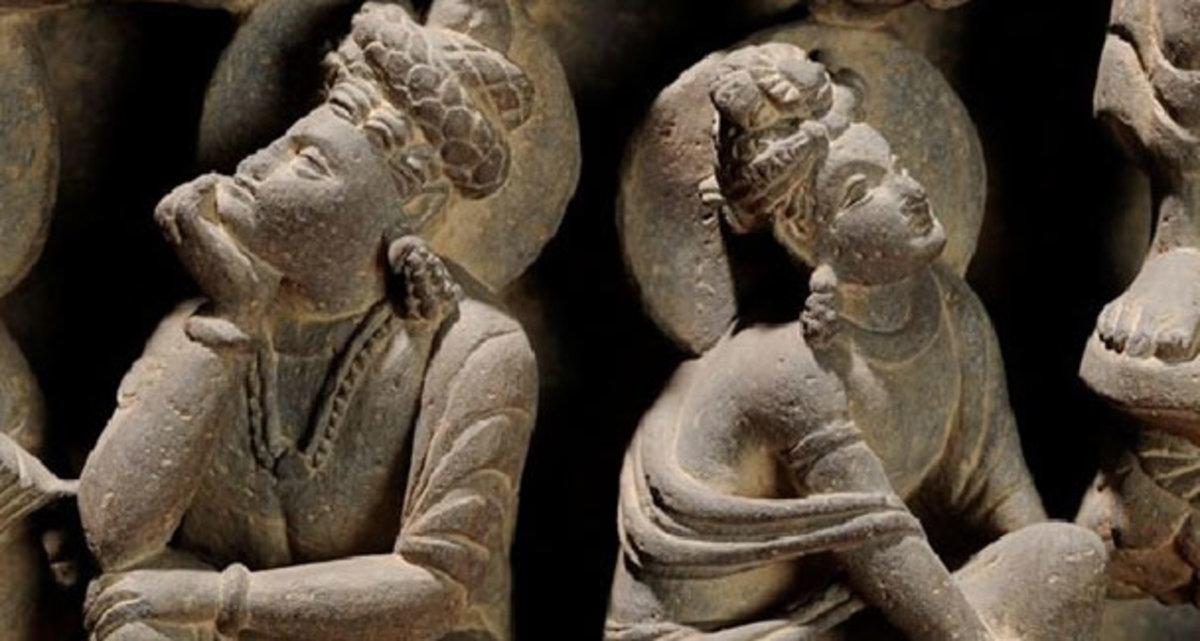 Buddha figures, Taxila Museum, Pakistan.