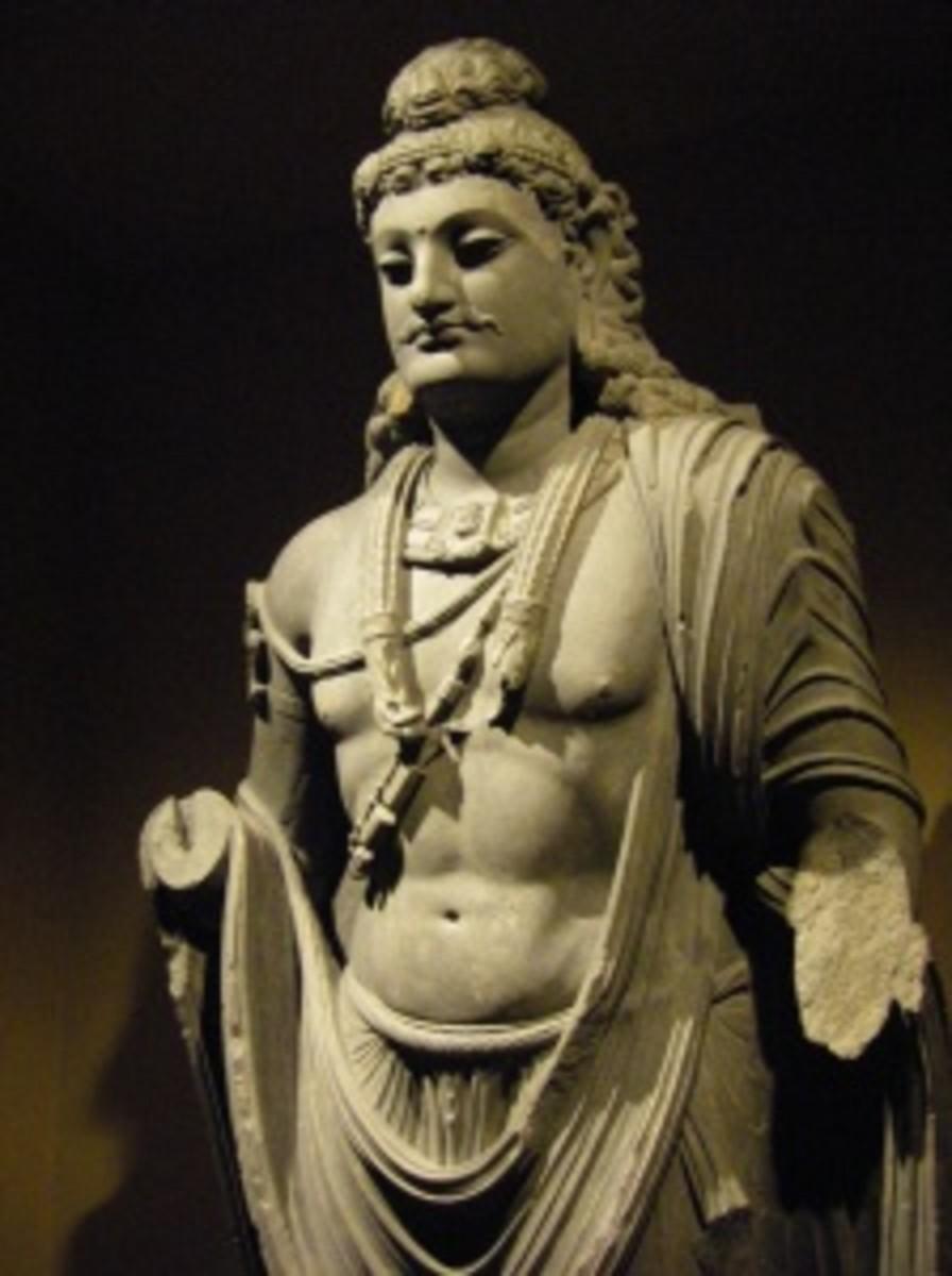 Ghandara Art, 5th B.C. Lahore Museum