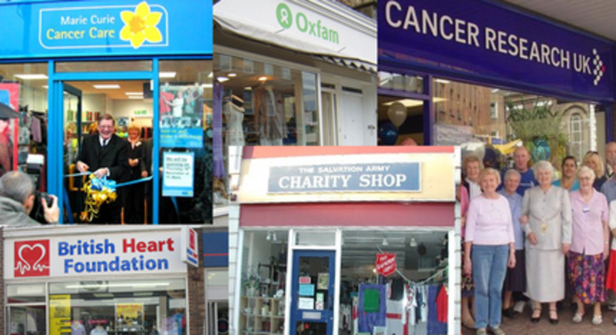 English Traditional Charity Shop, Now An Online Charity Shop, A Cultural Norm