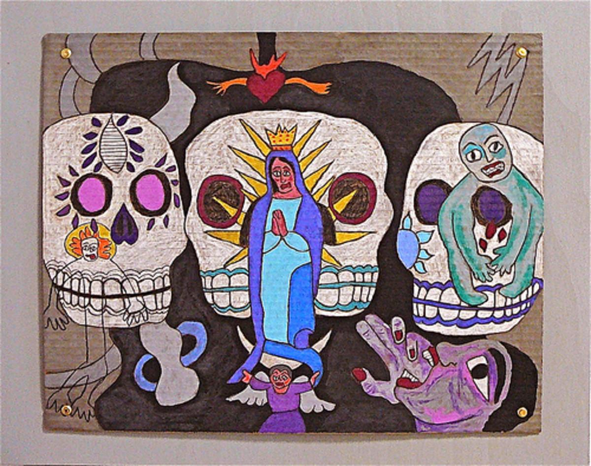 Dia de los Muertos pastels. Source: Flickr jenniferbeinhacker.com