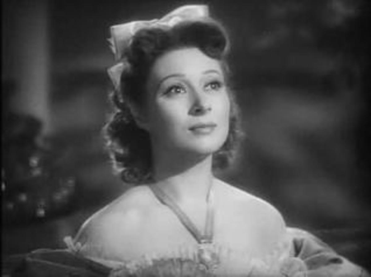 "Greer Garson in ""Pride and Prejudice."" Ms. Garson served as a model for a character in a long standing series of mystery novels written by a reporter/editor of the Detroit Free Press who also wrote for 80 years, to the age of 97."