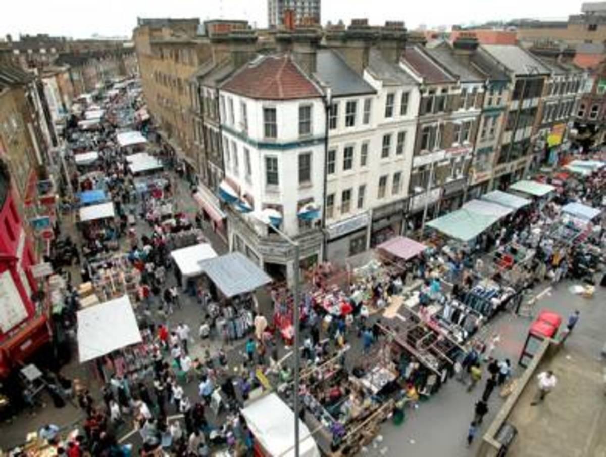 Walthamstow Street Market