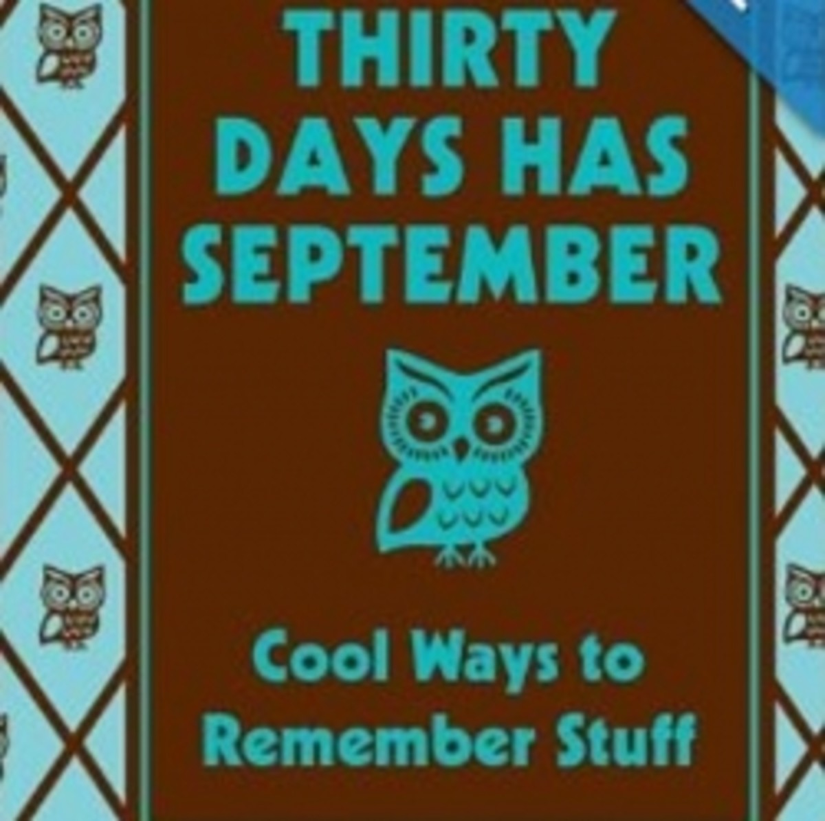 Photo Credit: Amazon.com - This book is featured below and can be purchased from Amazon. I still say this rhyme to remember how many days in each month.