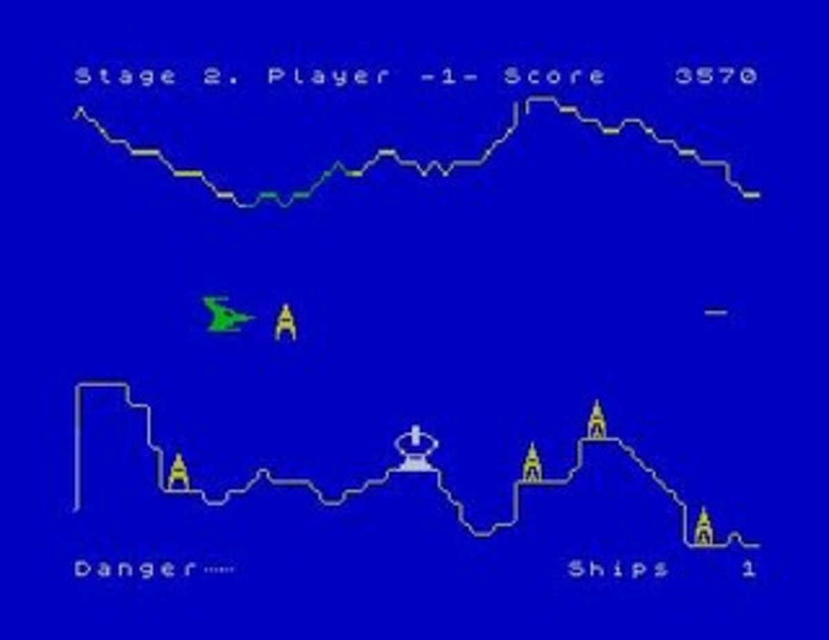 Penetrator on the ZX Spectrum