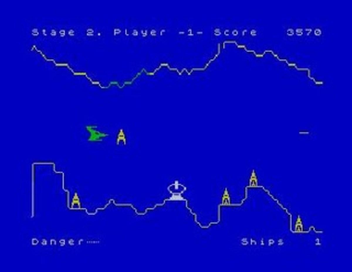 Penetrator on the ZX Spectrum