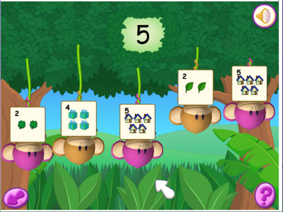 One of the learning games for 3-5 year olds.
