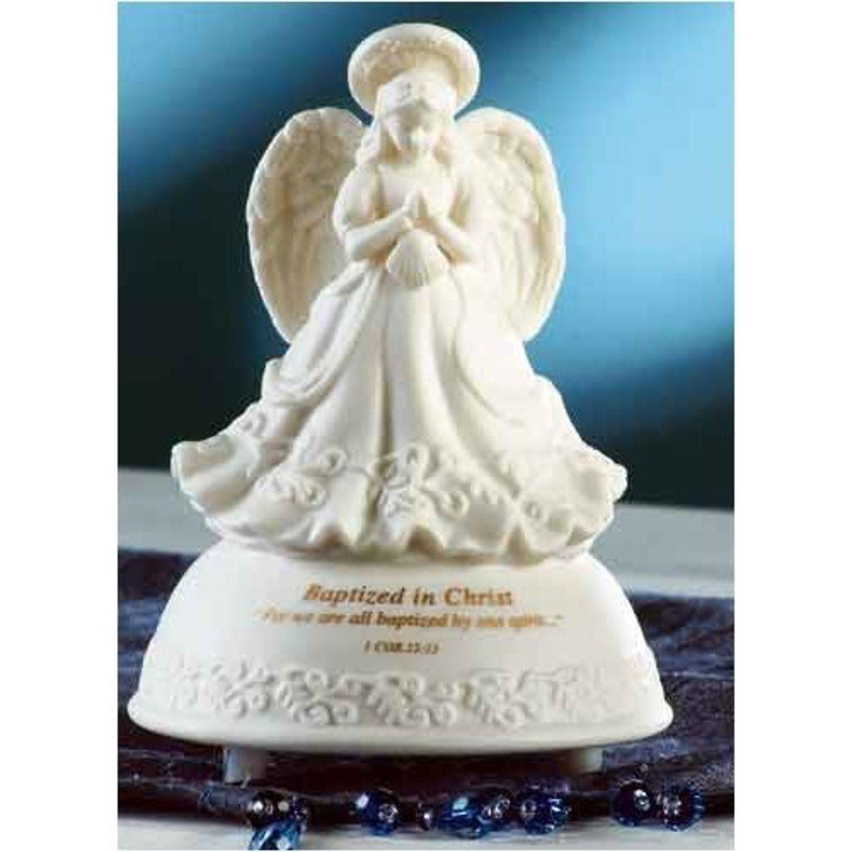 Christmas Angel Music Box Baptism Music Box Angel