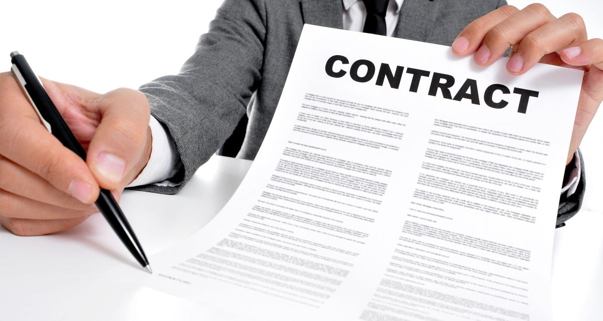 A Contract Must Be In Writing