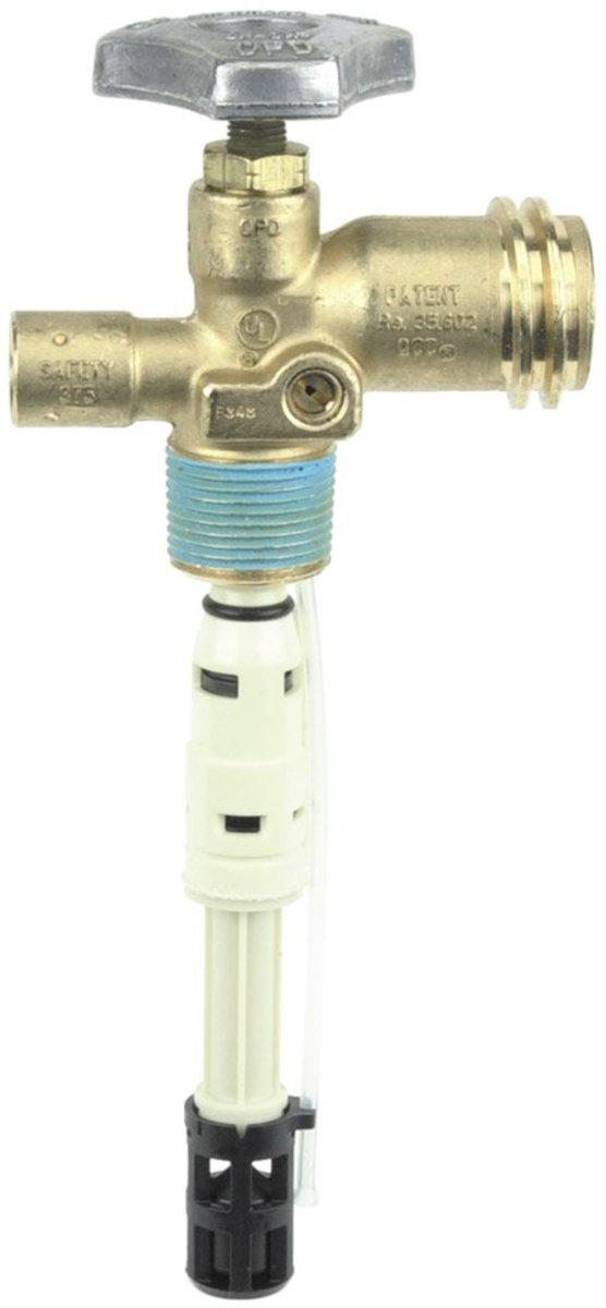 gas bbq grill check valve from liquid propane tank