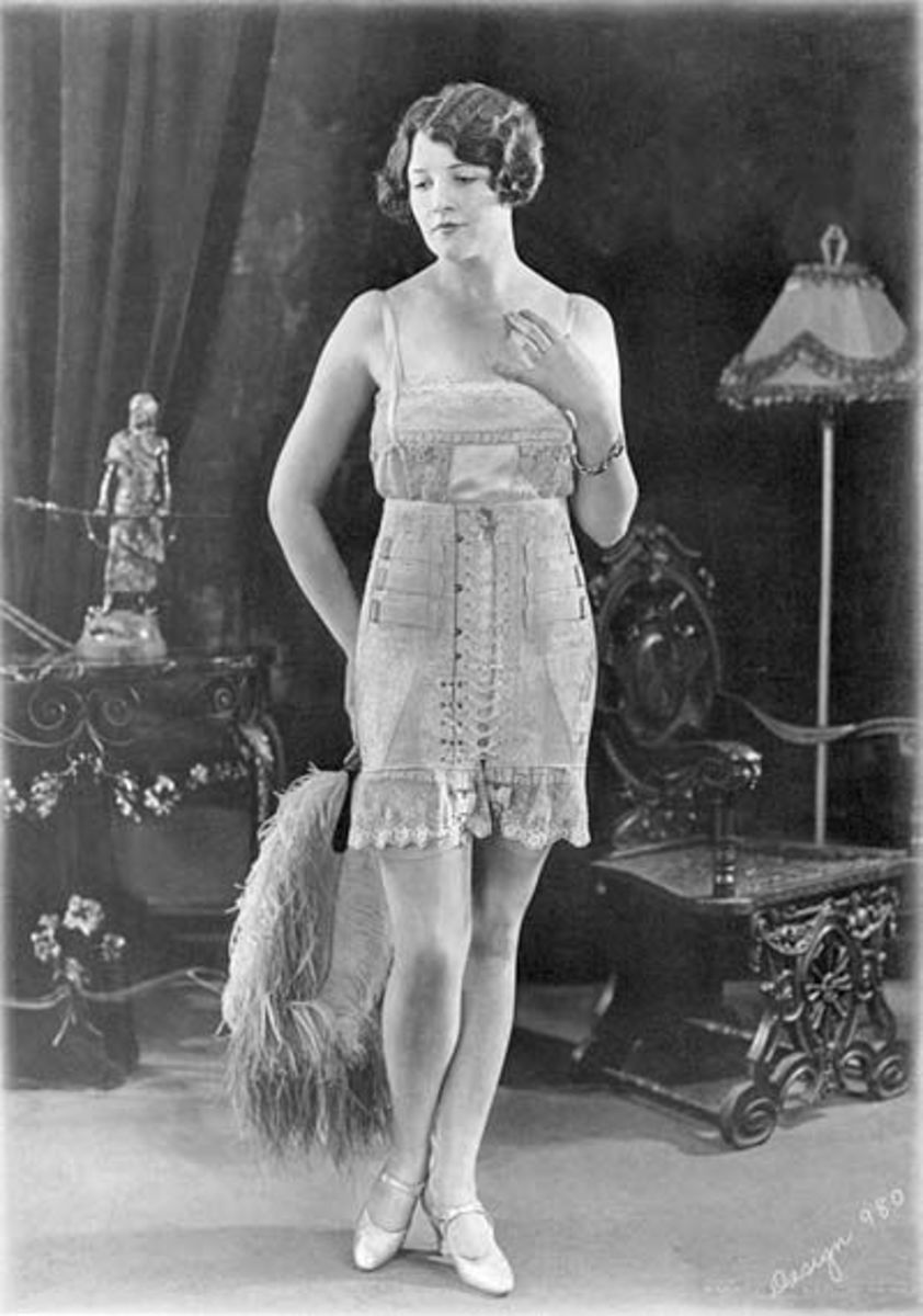 Early Front Stitch Corset