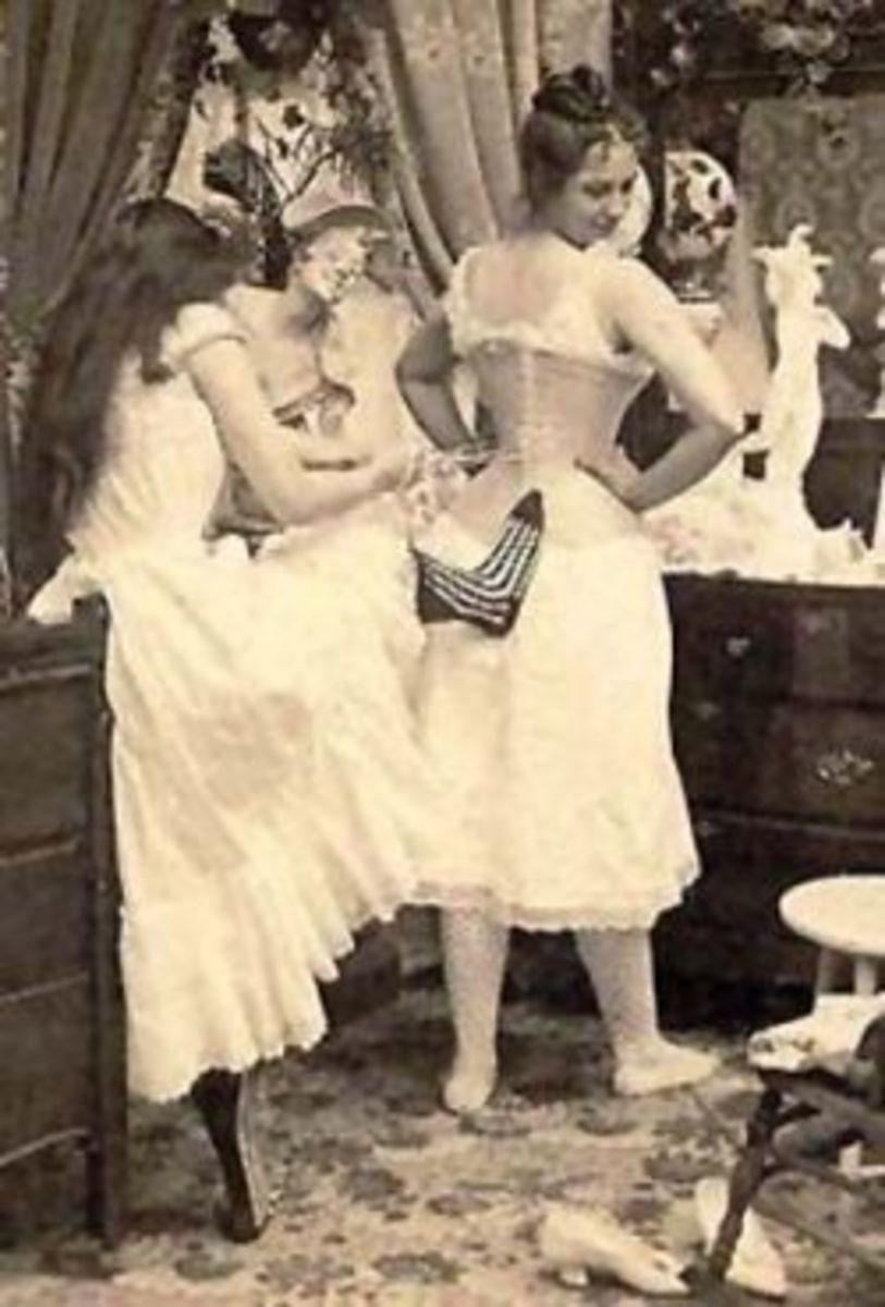 corset tightening