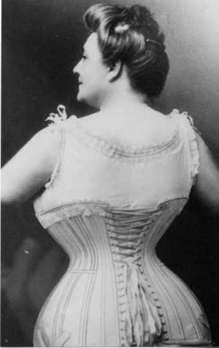 full figured corset