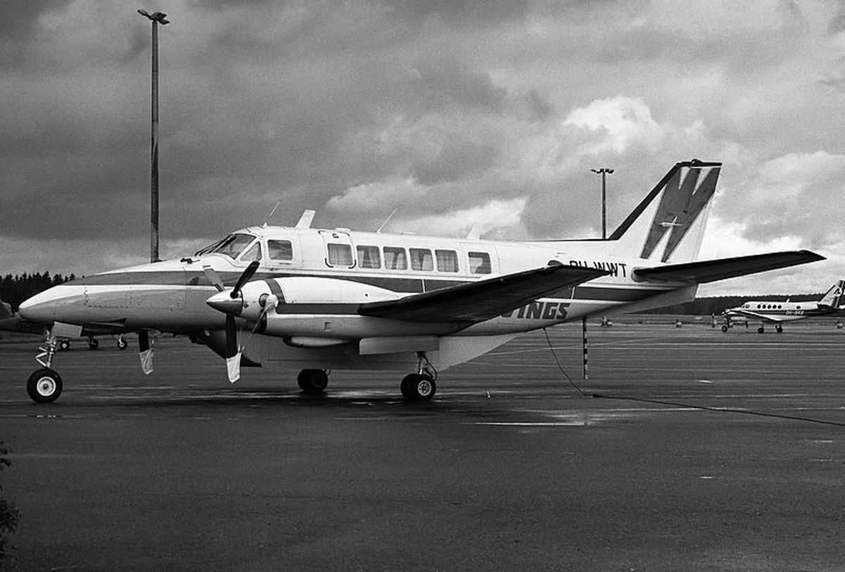 A Beech 99 Airliner aircraft