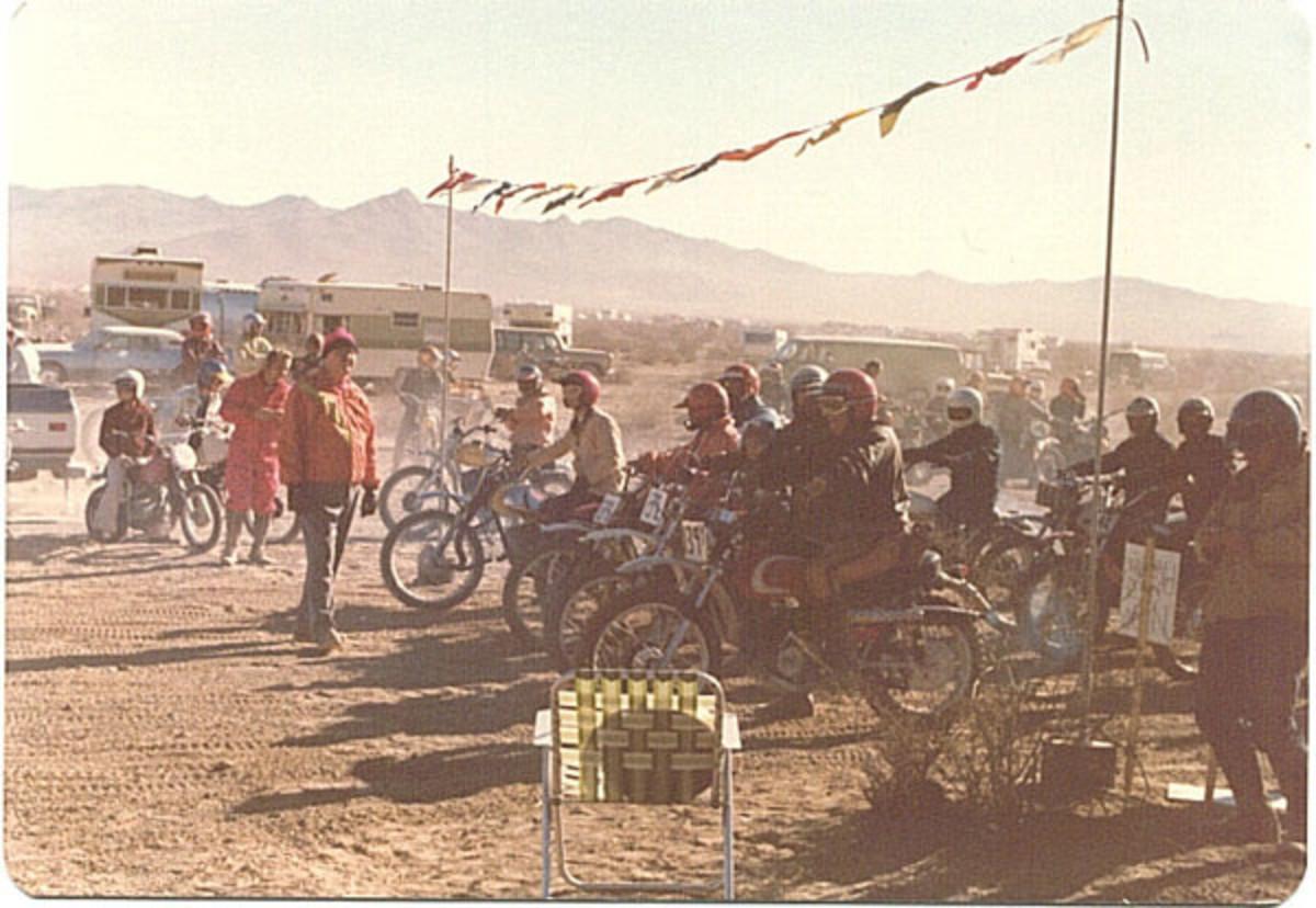 Start of an Enduro, Circa 1970's
