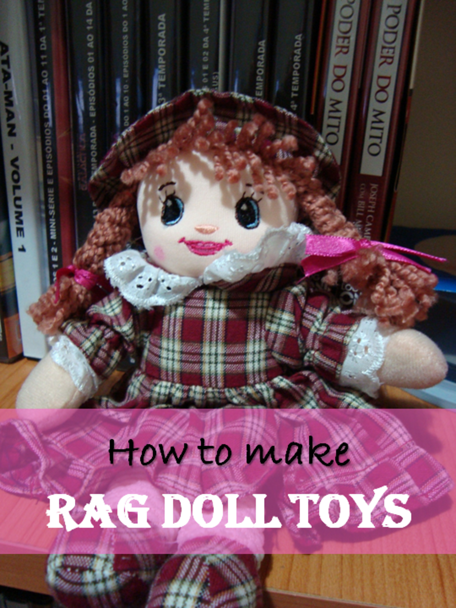 How to Make Rag Doll Toys – Soft Toys Craft