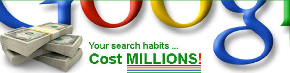 It's true. Your search habits cost millions of dollars. And LOTS of it is totally wasted.