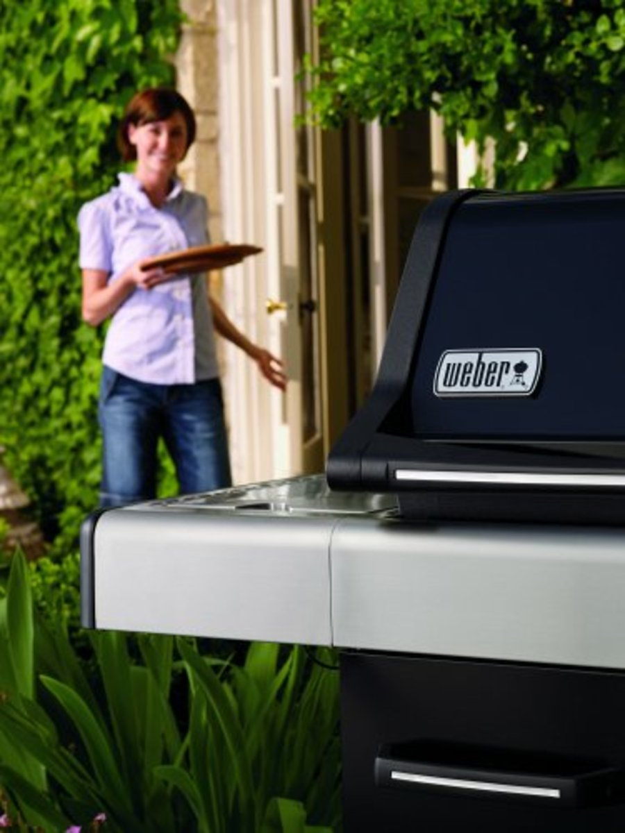 Don't worry if the grill is going to get temperamental once your guests arrive -- it's a Weber!