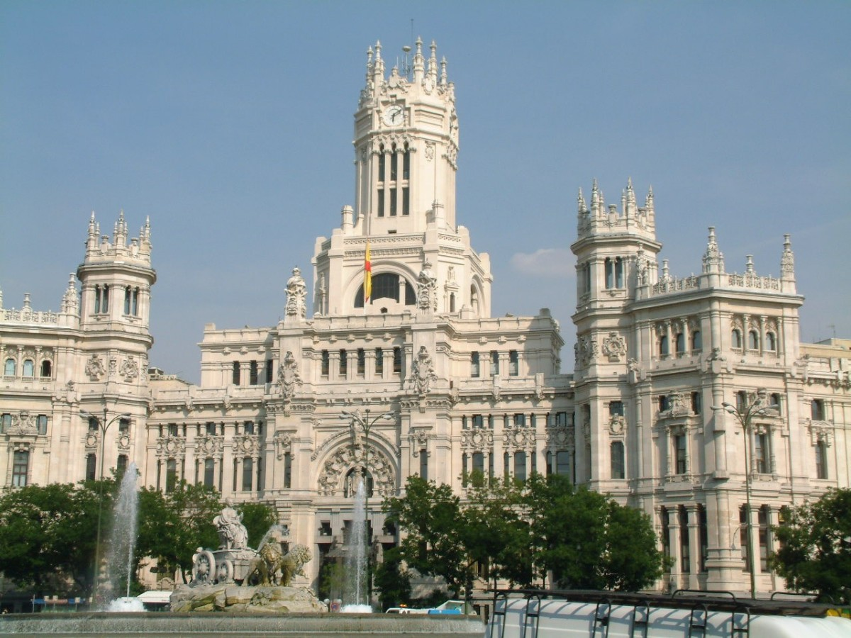 Madrid...it had never occurred to me that a country of such primitive background could produce such magnificence
