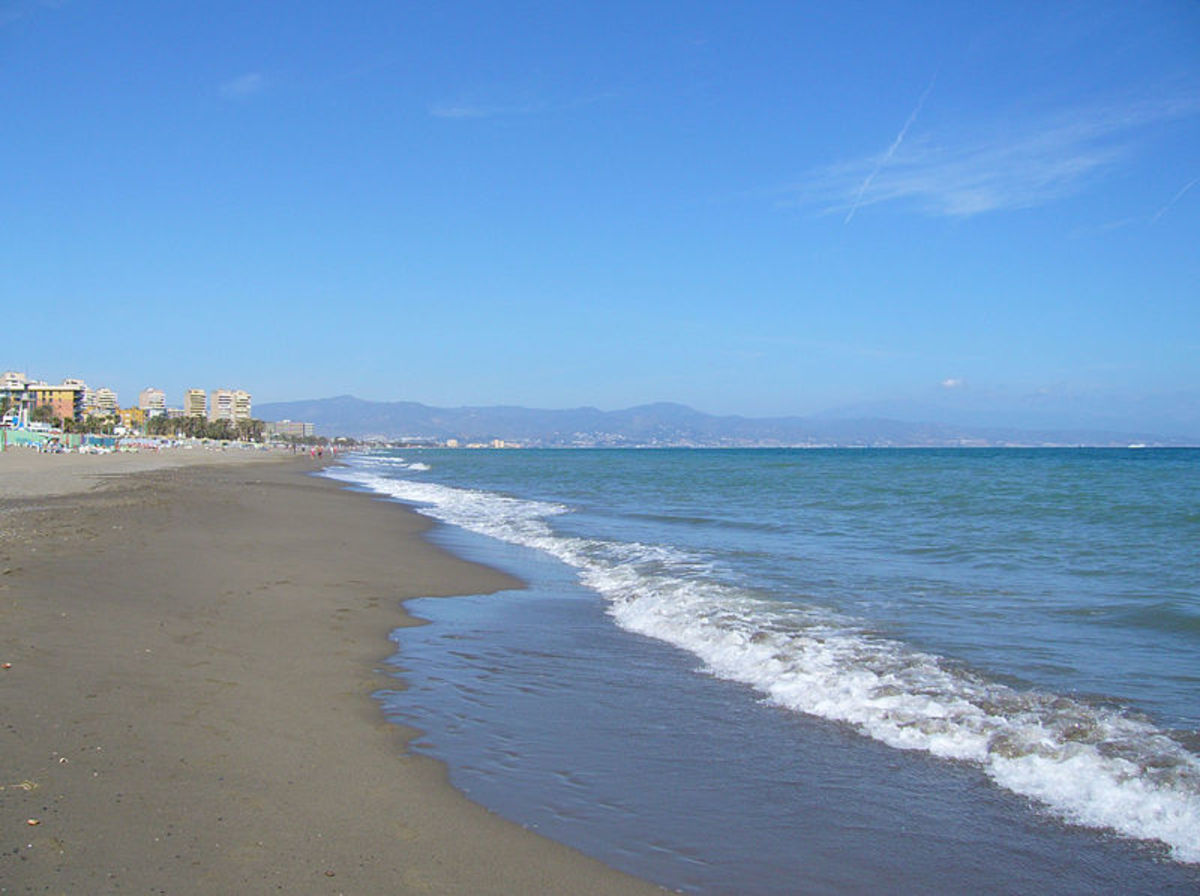 ... I saw Torremolinos for the first time, a line of tower blocks that seemed to have been dropped like a stick of bombs