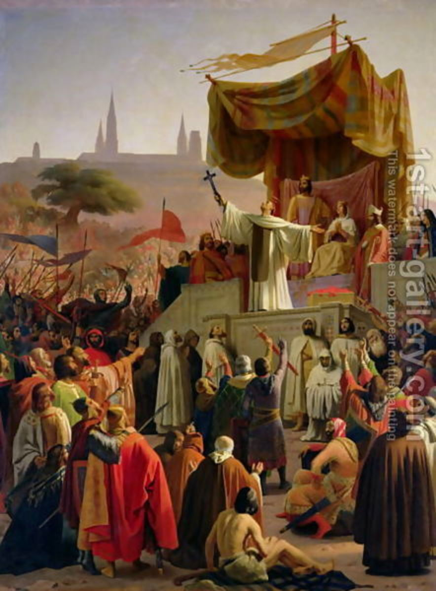 ST BERNARD PREACHES FOR THE SECOND CRUSADE