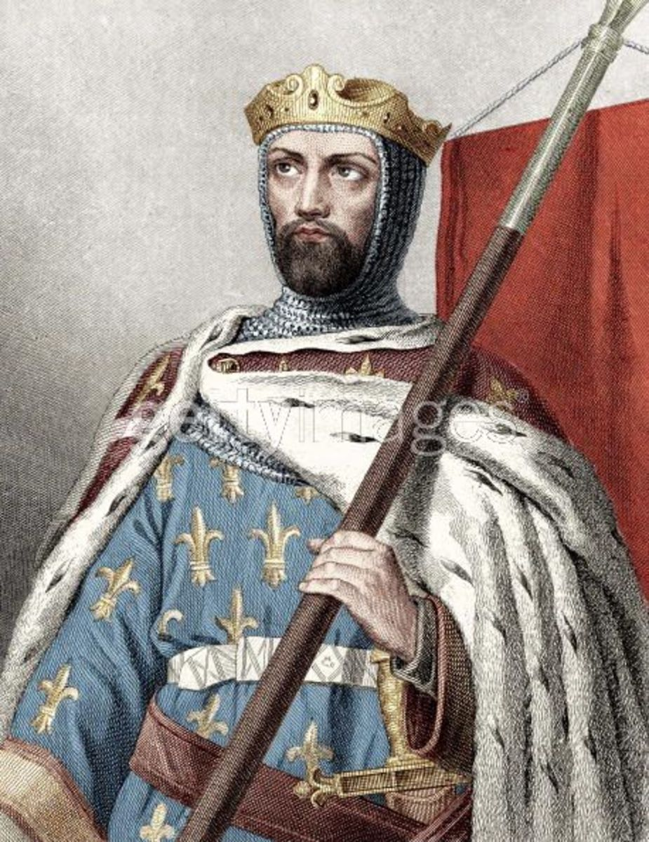 KING LOUIS VII OF FRANCE