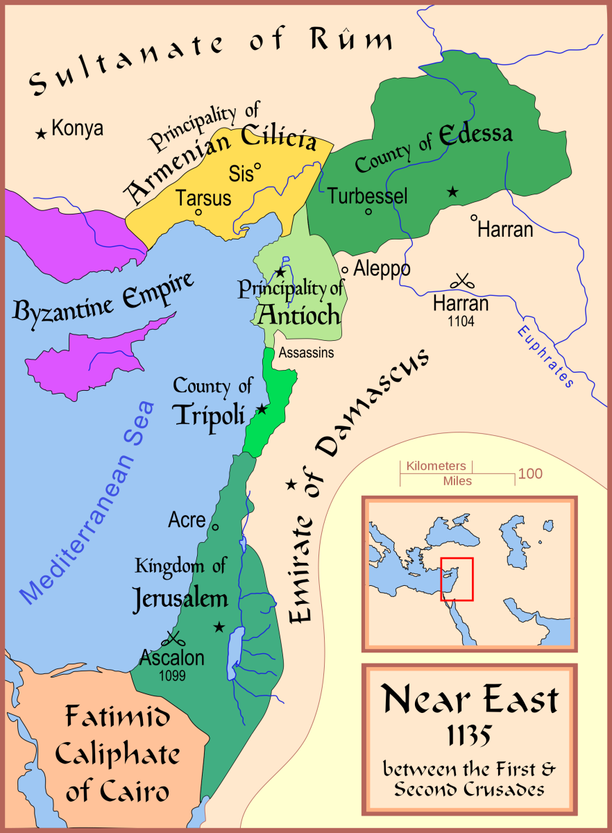 KINGDOMS ESTABLISHED BY THE FIRST CRUSADE