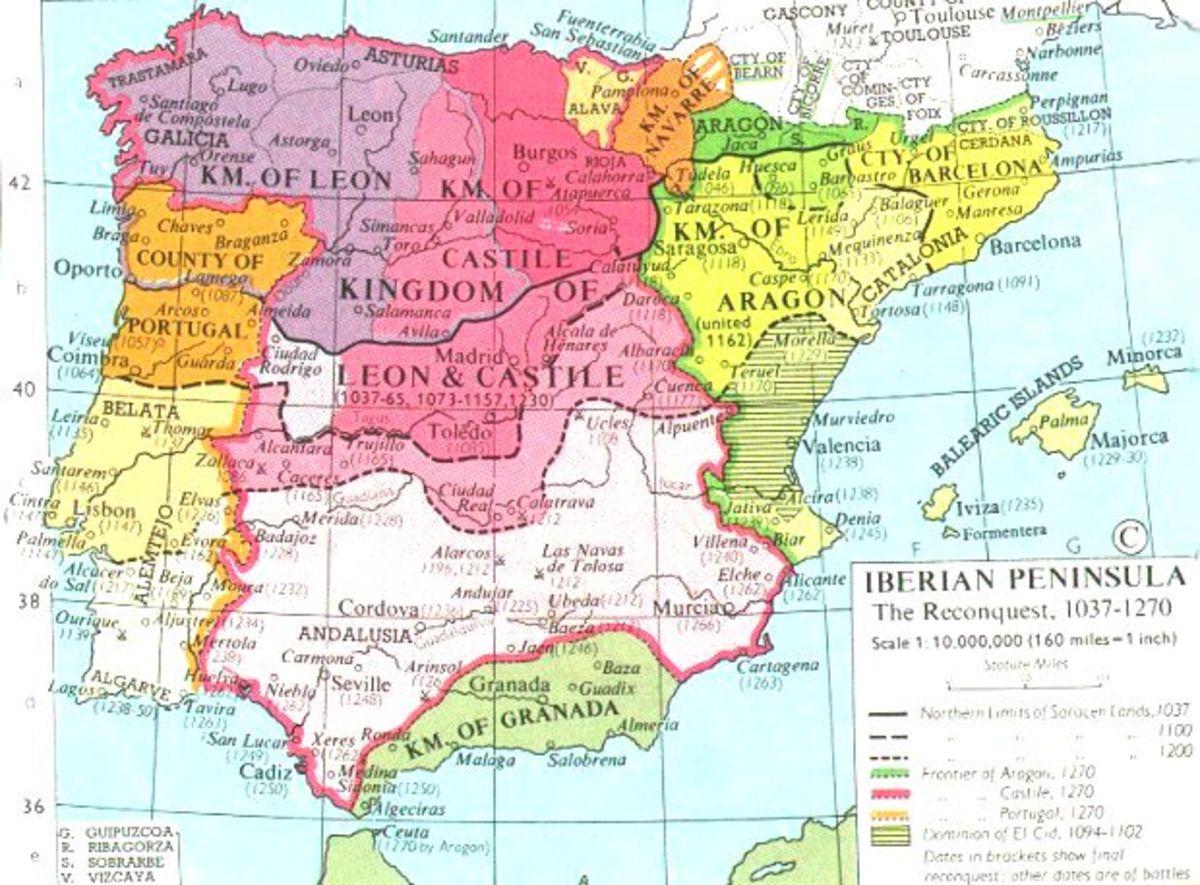 RECONQUISTA OF SPAIN