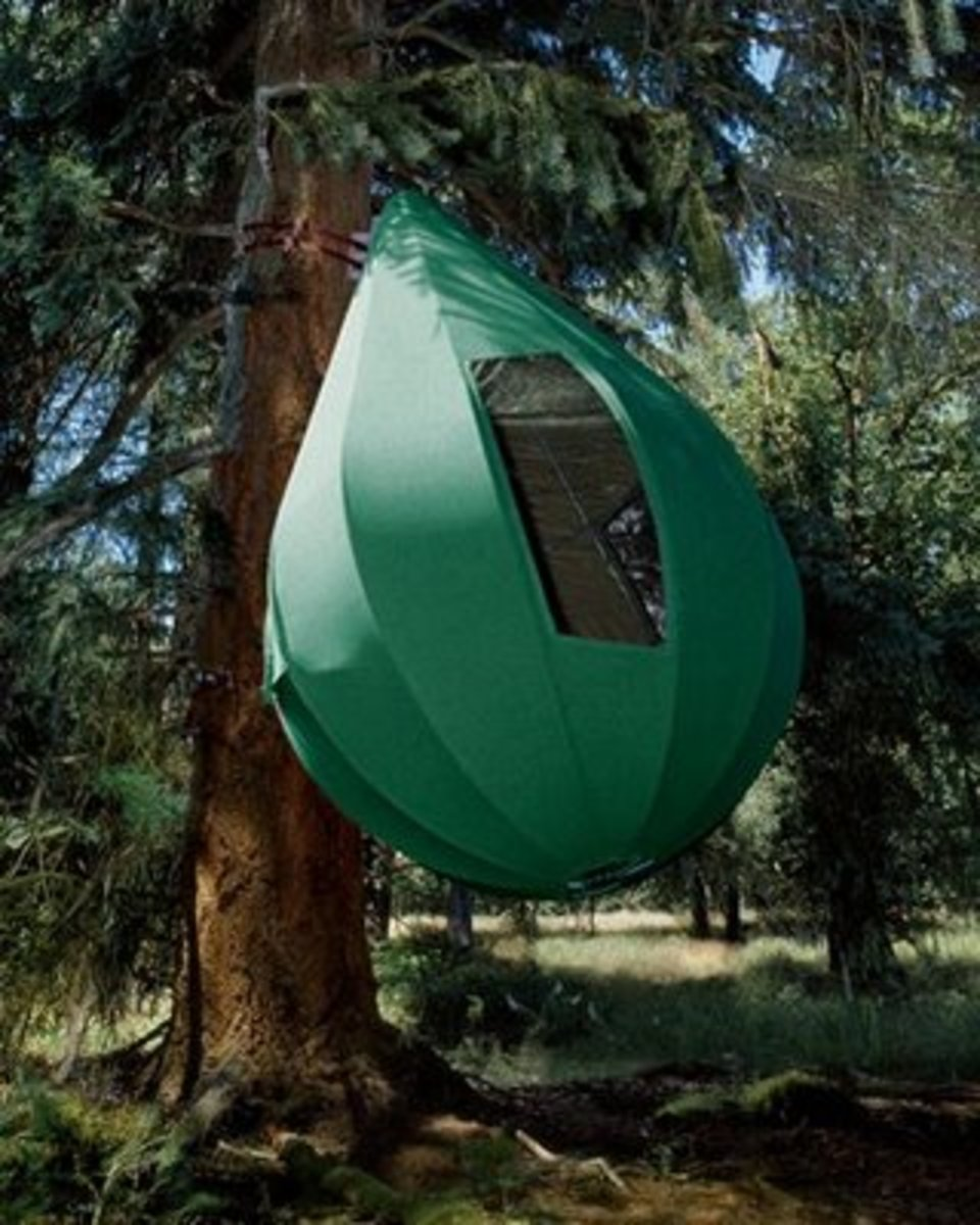 Camping tent the weird unique and innovative tent for Permanent camping tents