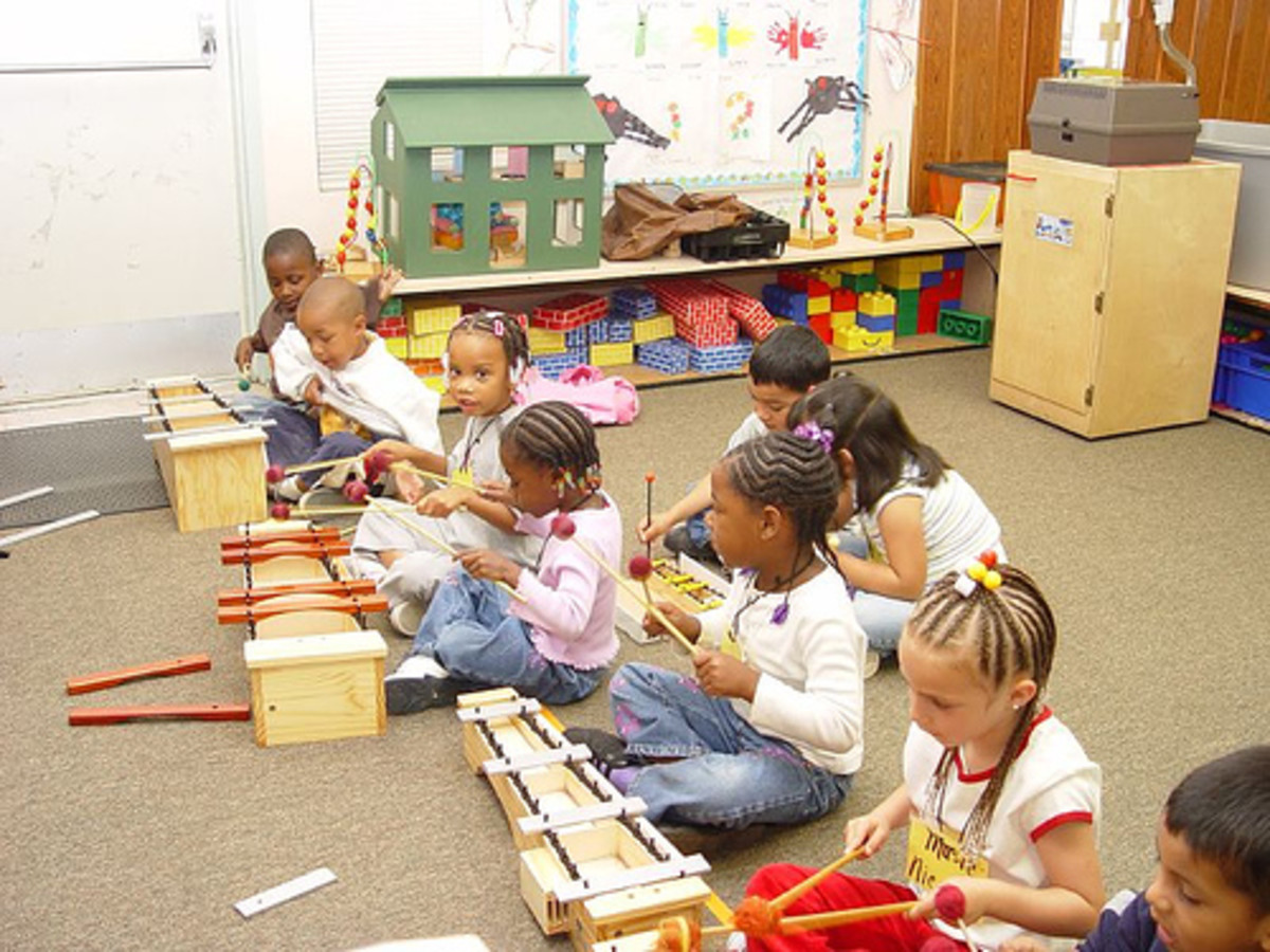 Developing thier musical skills...by never-nervous at flckr