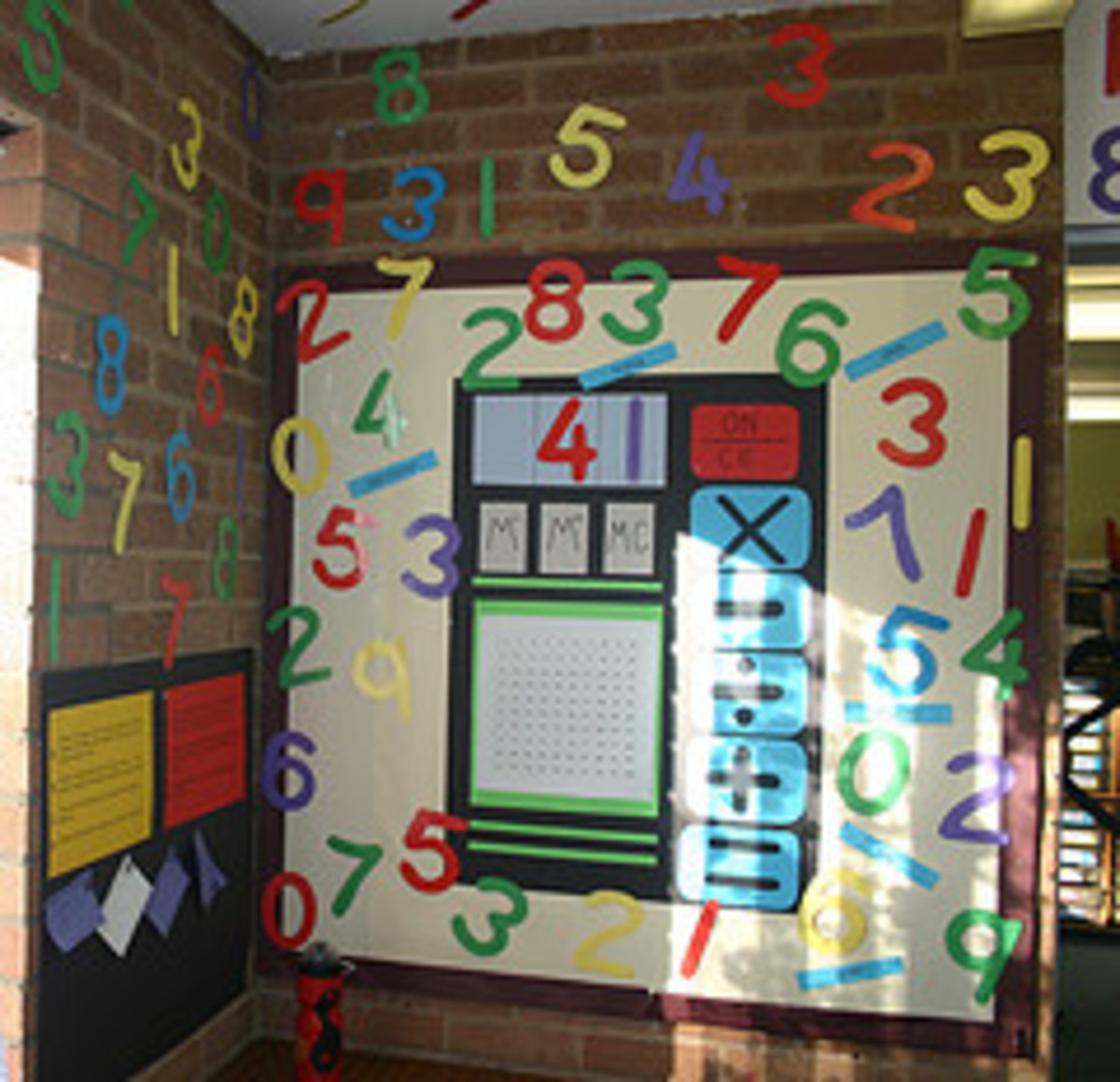 Colourful number display by Katz41 at flckr